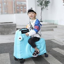 Fashion Children Rolling Luggage Spinner 20 inch Wheels Suitcase Kids Cabin Trolley Student Travel Bag Cute Baby Carry On Trunk