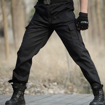 2020 NEW Black Cargo Pants Army Military Tactical Pants Men Work Pantalones Combat Tactical Clothes Camo Overalls Casual Trouser
