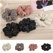 Women Winter Corduroy Cloth Scrunchy Pack  Bright Color Hair Schrunchy 2020 New Year Spring Ponytail Elastic Hair Rope Girl