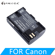 цена на 2000mAh LP-E6 Digital Camera Battery For Canon EOS 5D Mark II 2 III 3 6D 7D 60D 60Da 70D 80D DSLR EOS 5DS lp e6 Dropshipping