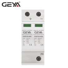 GEYA 2P DC SPD 600V 40KA Surge Protection Device 50/60Hz 500V Overvoltage Protector