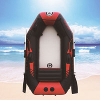 Outdoor Water Inflatable Boat175cm PVC Boat Wear resistant 1 2Person Inflatables Kayak Fishing Boat Air Deck Bottom E Motor
