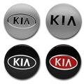 4 шт. 56 мм Центральная втулка колеса автомобиля крышки Авто эмблемы Крышка для обода колеса наклейки для KIA K2 K3 K5 Sorento Sportage РИО ДУША Ceed аксессу...