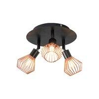 Kostenloser Versand Nordic kreative decken lampe führte wohnzimmer schlafzimmer lampe einstellbar lampe kopf G9 decke scheinwerfer 15W 110V 220V