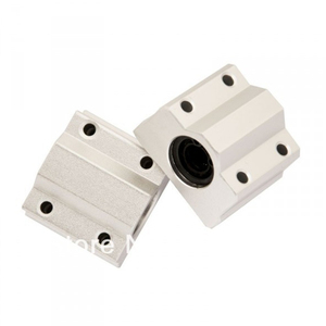 Image 1 - SC16UU SCS16UU 16 мм линейный Шарикоподшипниковый блок опорный блок для cnc запчасти SC16