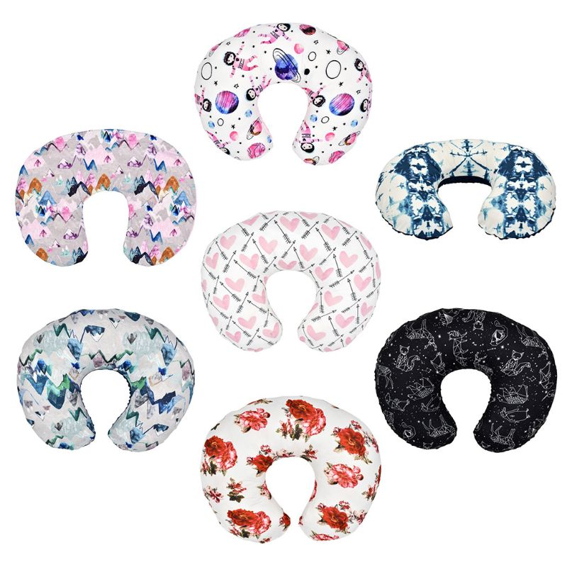 Breast Feeding Maternity Support Pillow Cover Helping Nursing Baby Head Support