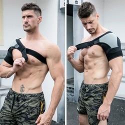 Cinta de ombro com almofada de pressão esponja ombro apoio dor no ombro gelo pacote ombro compressão manga