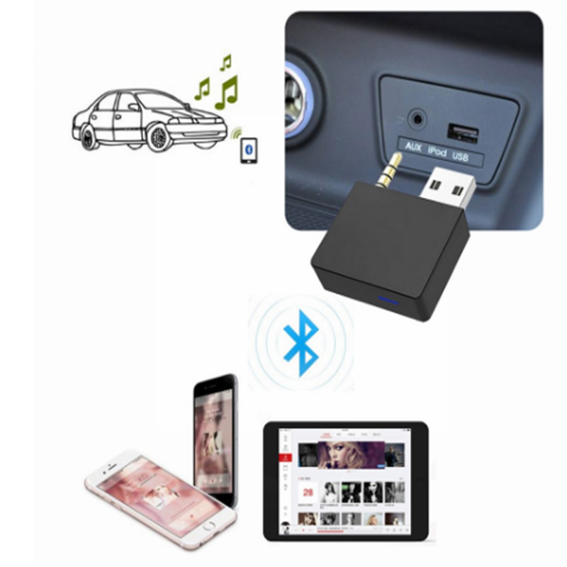 CHELINK New AUX Bluetooth 4.0 USB Adapter Cable Handsfree Auto Bluetooth Transmitter Receiver Fits For Hyundai Kia Sedon Sorento