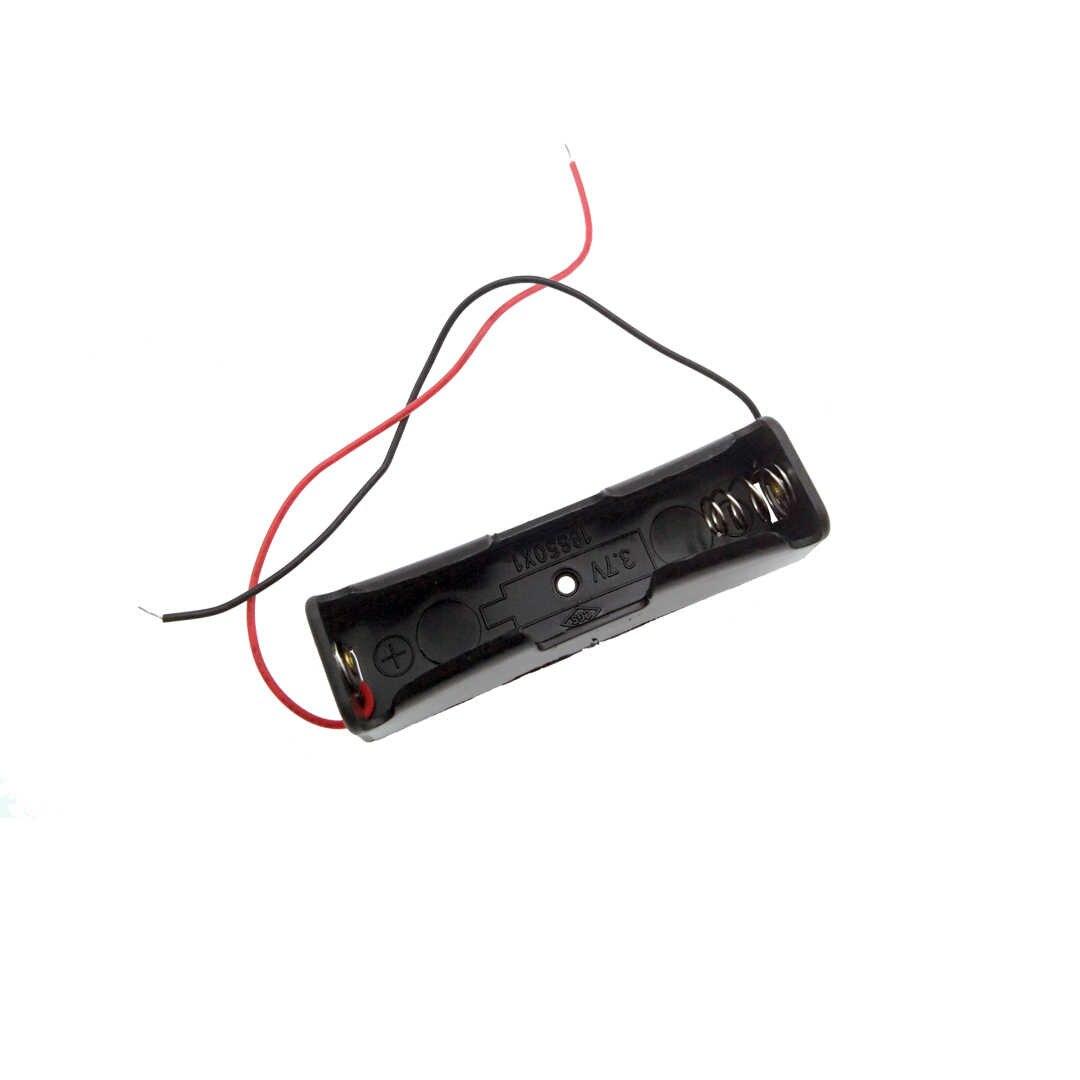 1 قطعة 1/2/3/4*18650 حافظة بطاريات مربع حالة DIY 1 2 3 4 فتحة طريقة بطاريات حامل قصاصة الحاويات مع سلك الرصاص دبوس Z2