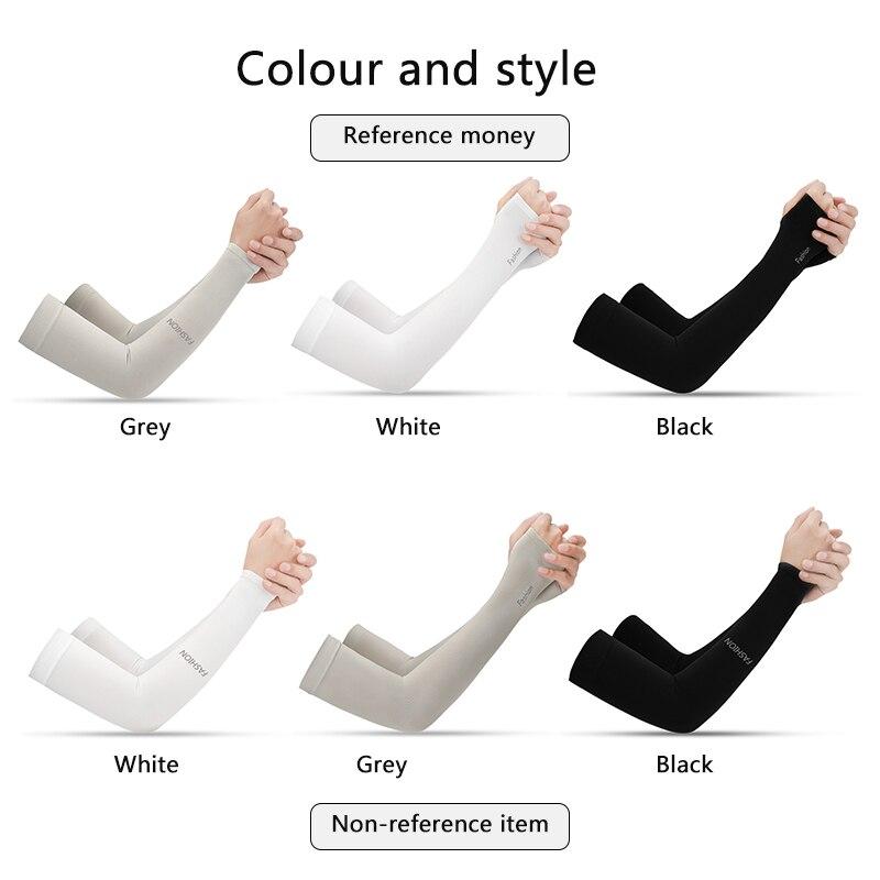 2 шт., летние солнцезащитные перчатки для мужчин и женщин