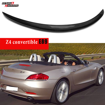 Carbon Fiber Rear Tunk Spoiler Wing for BMW 2009 - 2016 Z4 (E89) image