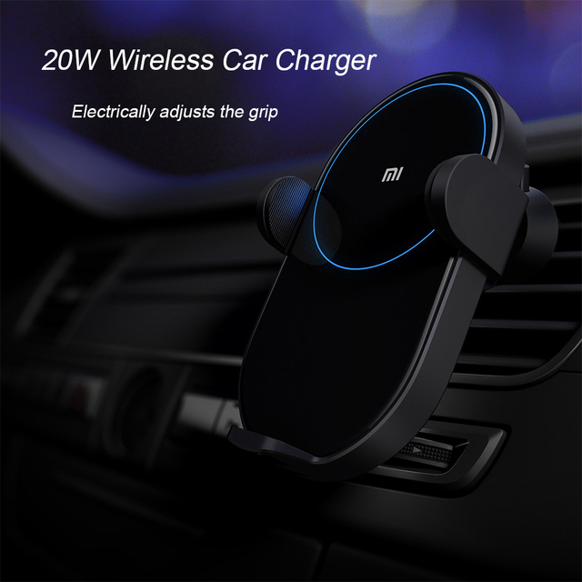 Xiaomi 20W Wireless Car Charger Universal Mobile Phone Chargers Mi Car Charging Accessories Supprt Dual USB QC 3.0 Quick Charger 6