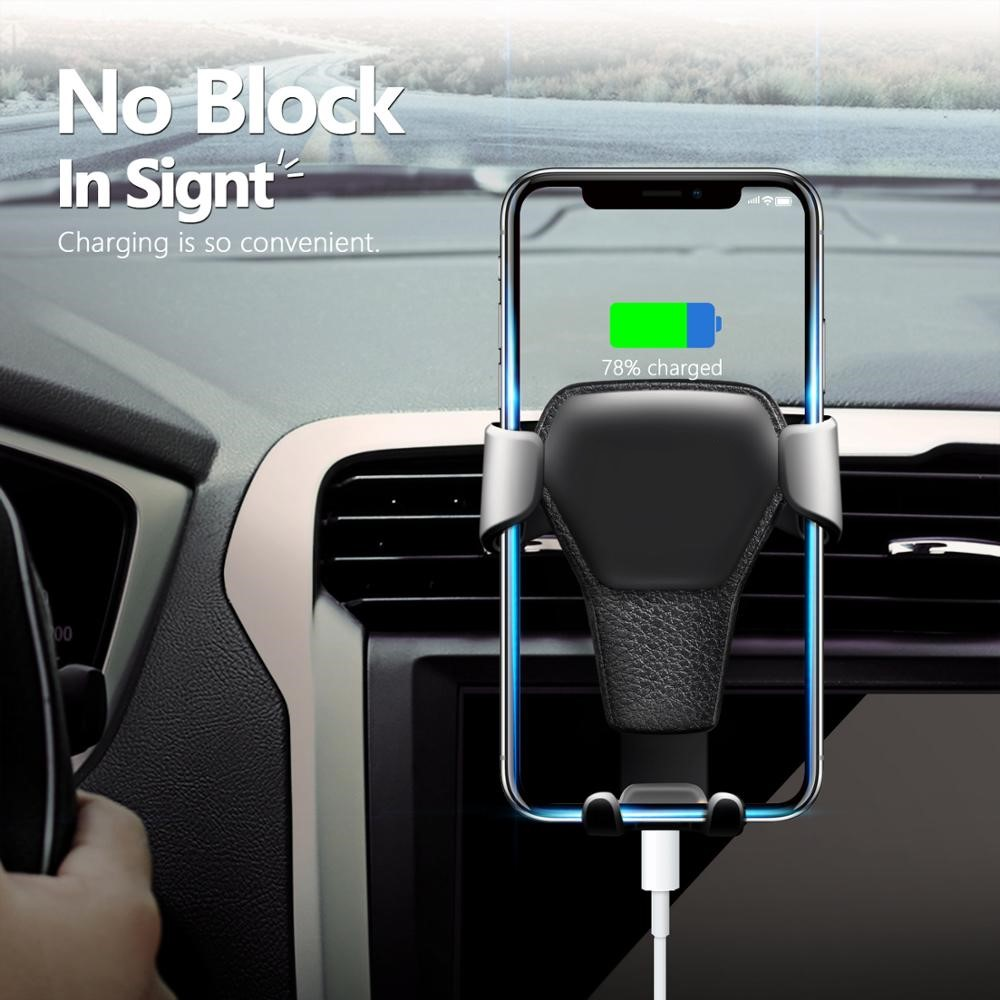 Car Phone Holder For Phone In Car Air Vent Mount No Magnetic Mobile Phone Holder Stand Universal For 4.7