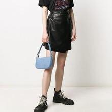 Винтажная сумочка tamara в форме багета аллигатора роскошная
