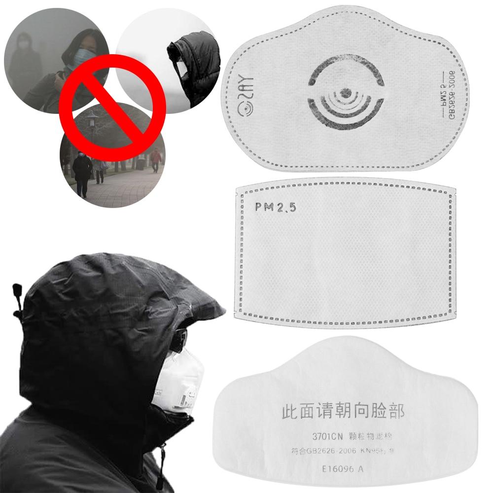 PM2.5 Masks Activated Carbon Mask Filter for Bike Masks Air Cleaner Dust Pollution Mask Filter Coronavirus prevention pneumonia