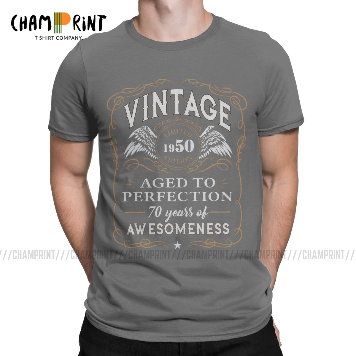 70th Birthday Gift Limited 1950 Edition T Shirts For Men 70 Years