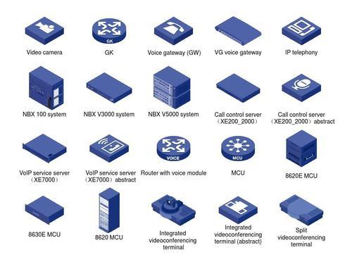 一元源码:VISIO图库-H3C标准图标库