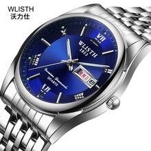 WLISTH 2020 luksusowe biznes Sport zegarek mechaniczny markowe zegarki męskie automatyczne ze stali nierdzewnej wodoodporny zegarek mężczyzn