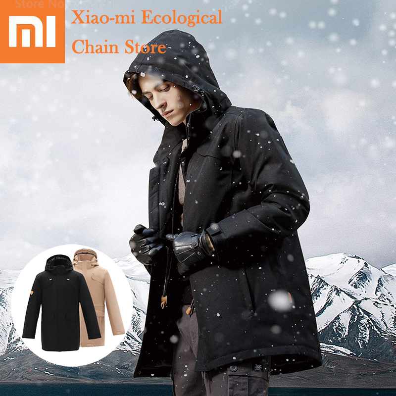 Xiaomi DMN Aerogel Cold Suit  -40 ℃ Severe Cold -196 ℃ Cold Resistance Jacket Windproof Waterproof Men Clothes Anti-cold Coat