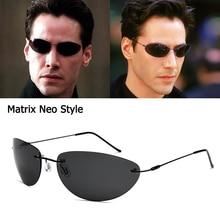 JackJad 2020 Fashion Cool The Matrix Neo Style Polarized Sunglasses Ultralight R