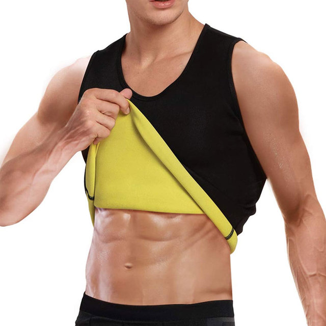 Slimming Belt Belly Waist Slimming Burning Body Fat Abdomen Vest Shaperwear Sweat Shaper Neoprene Men Corset