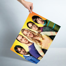 Nice Big Bang Theory Poster Silk Fabric Wall Art Poster Print Painting Nature Decoration Pictures Modern Home Decor(China)