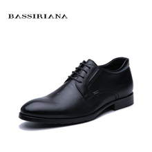 BASSIRIANA New 2019 leather mens shoes classic quality comfortable free shipping