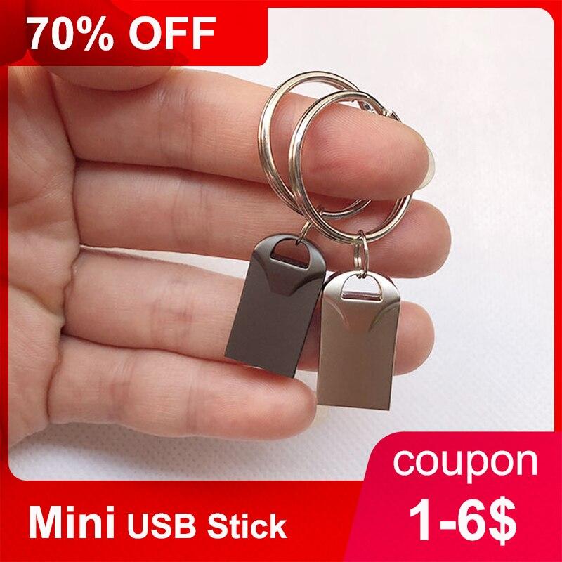 Бесплатная доставка, Мини USB флеш-накопитель, 4 ГБ, 8 ГБ, 16 ГБ, 32 ГБ, 64 ГБ, 128 ГБ