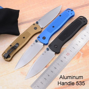 JUFULE OEM 535 Aluminium handle mark s30v blade folding Survival EDC Tool camping hunting outdoor pocket Fruits Utility knife image