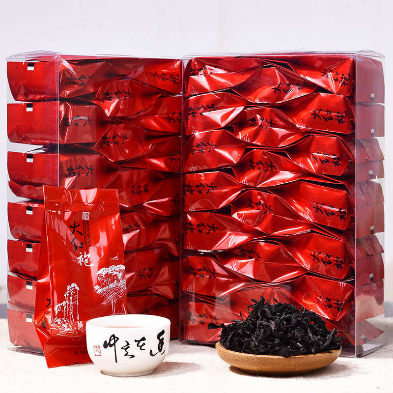 Chinese Da -Hong -Pao Tea Big Red Robe Oolong Tea The Original Green Food Wuyi Rougui Tea For Health Care Lose Weight