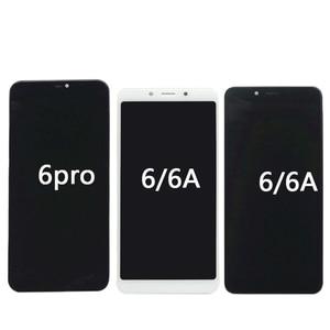 Image 3 - Xiaomi redmi 6 cep telefonu lcd + çerçeve Redmi 6 pro ekran 6A dokunmatik ekran Digitizer meclisi parçaları LCD ekran onarım