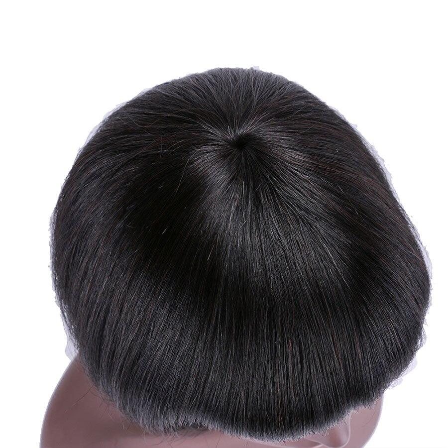 curto perucas de cabelo humano para preto