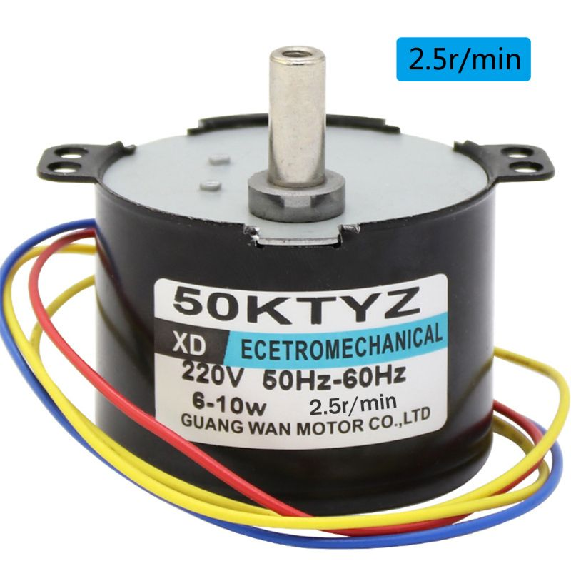 50ktyz magnet motor sincrono ac220v 25 50r min 01