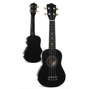 """Image 2 - 우쿨렐레 로즈 우드 어쿠스틱 나일론 4 현 ukulele 레베이스 기타 21 """"소프라노 우쿨렐레 초보자 또는 기본 플레이어 우쿨렐레 콘서트"""