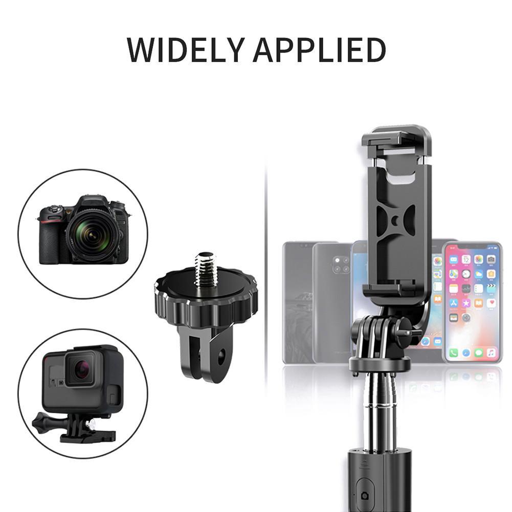 Ny bærbar Bluetooth 5.0 selfie stick fjernkontroll stativ - Kamera og bilde - Bilde 2