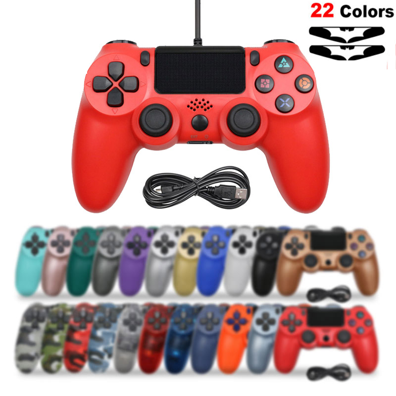 USB Wired  Joystick for PS4 Controller Fit For mando ps4 Console  For PS3 For Playstation Dualshock 4 Gamepad