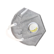 KN95 N95 FFP2  PM2.5 Respirator Antivirus Corona Mask Virus Prevention COVID-19 Smog Prevention Masks with Breathing Valve