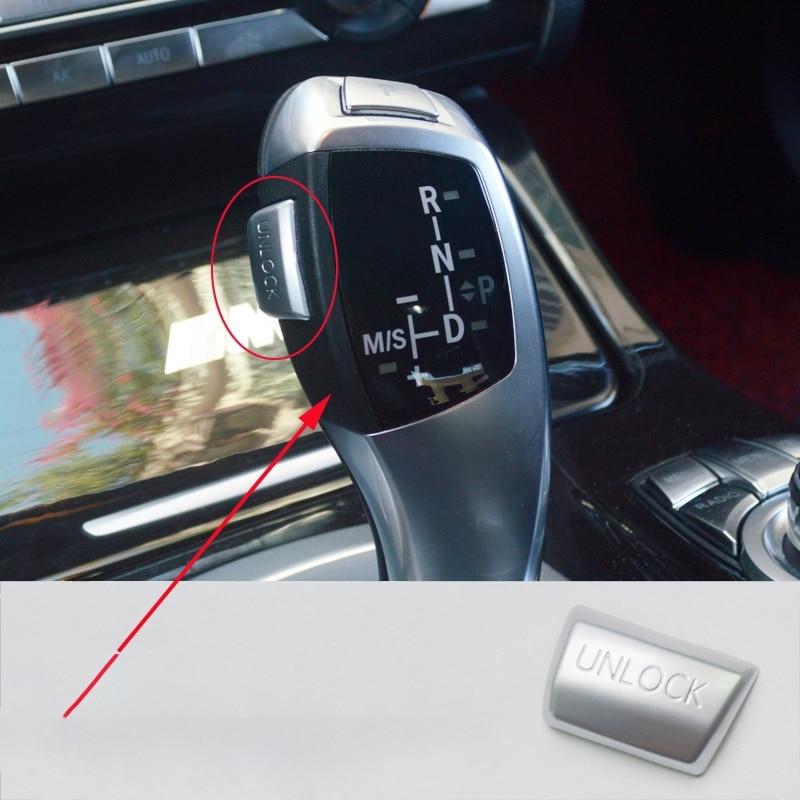 Автомобильный Шестерни парковки Кнопка разблокировки крышки Стикеры для Bmw, Возраст 1, 2, 3, 4, 5, 6, 7, X3 X4 X5 X6 серии