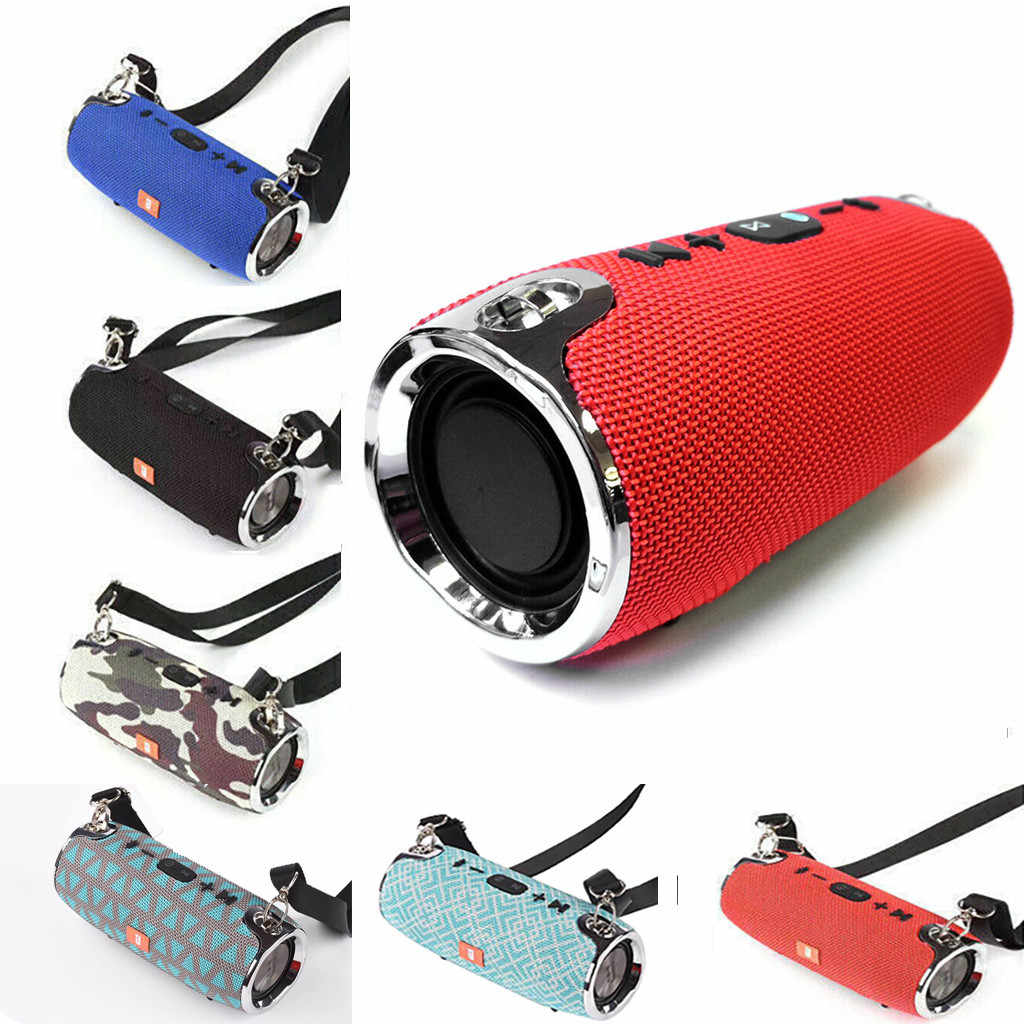 Isi Ulang 40W Portable Nirkabel Bt 4.2 Stereo Speaker Outdoor Aerobik Olahraga Kasual Tahan Air Speaker 10