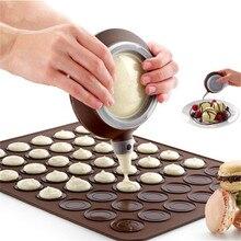VOGVIGO хлебобулочные силиконовые кексы Маффин Макарон Обледенение труб инструмент для выпечки горшок 4 насадки Набор для кухни инструменты для выпечки тортов