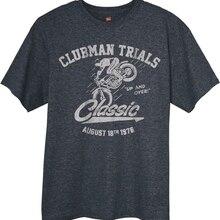 Camiseta clásica de manga corta de algodón para hombre, camiseta gris de moto Ossa Bultaco Montesa Fantic para mujer