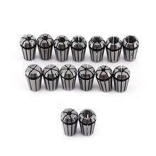 15 pièces/ensemble ER11 1-7MM ressort pince mandrin ensemble pour CNC Machine de gravure fraisage tour porte-outil