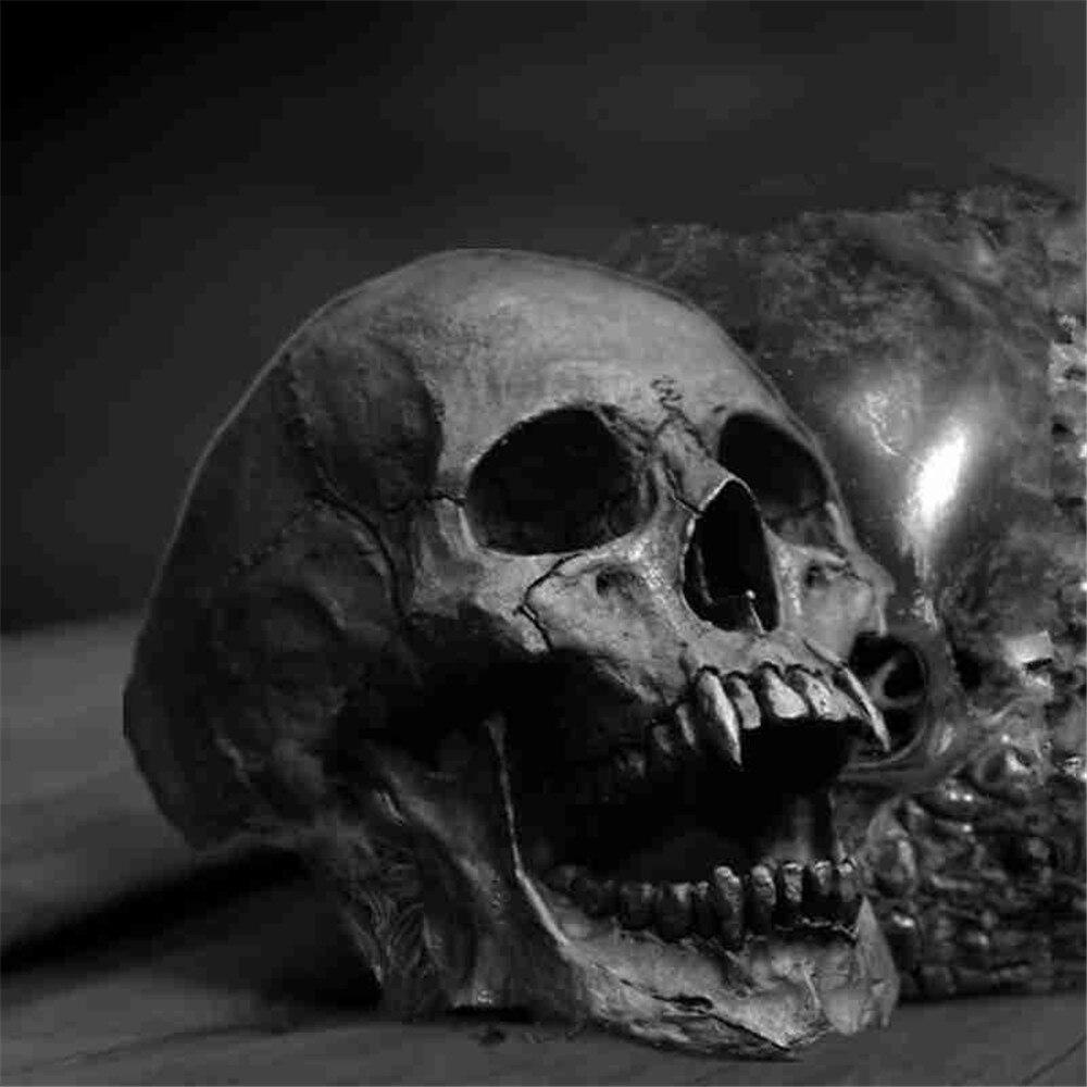 Кольцо мужское с черепом вампира, винтажное ювелирное изделие с открытыми челюстями в стиле панк, Байкерский стиль, рок-ролл, готика, для мал...