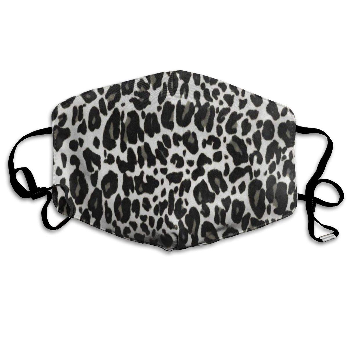 Hipster Animal Leopard Inspiring Dust Mouth Mask Reusable Anti-Dust Face Mask Adjustable Earloop Skin Protection