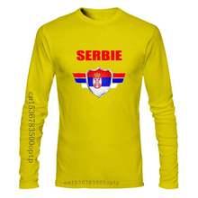T-shirt Enfant Serbie avec prenom au dos personnalise - Mondial Football 2018