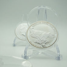 2016 австралийские монетки с клиновидным хвостом и орлом Посеребренная