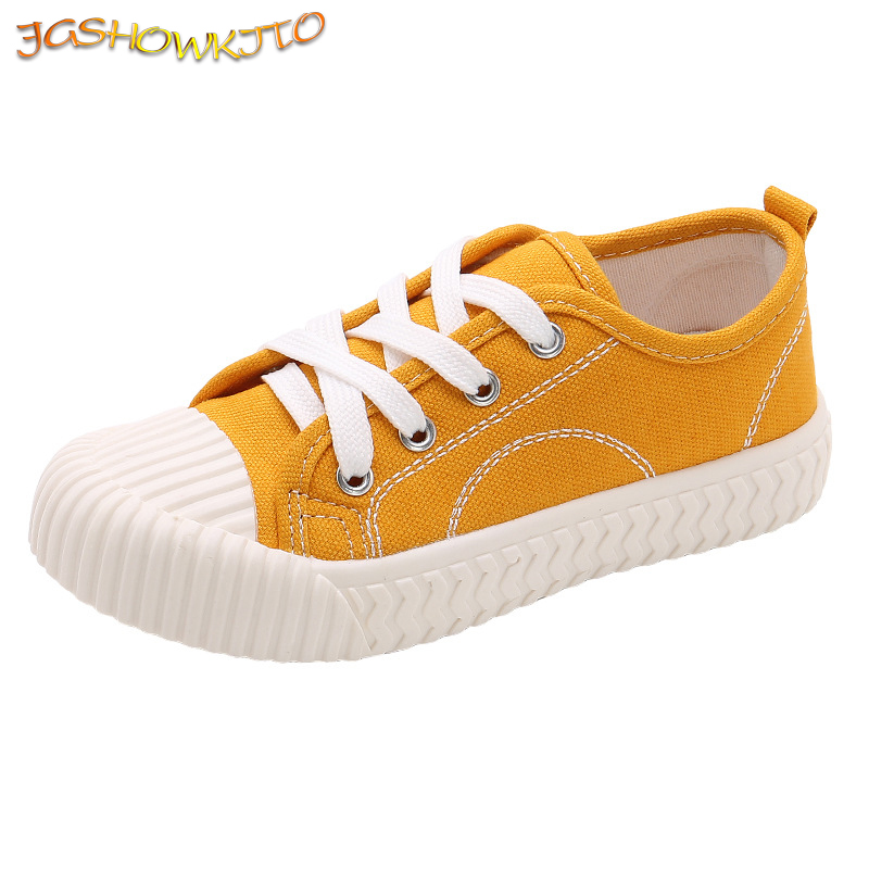 Fashion Kids Shoes Unisex Boys Girls Sneakers Children Casual Canvas Shoes For Big Boy Girl Candy Colors Soft Breathable 27-38