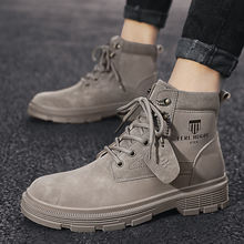 Брендовые мужские ботинки сохраняют тепло осенне зимние мужская
