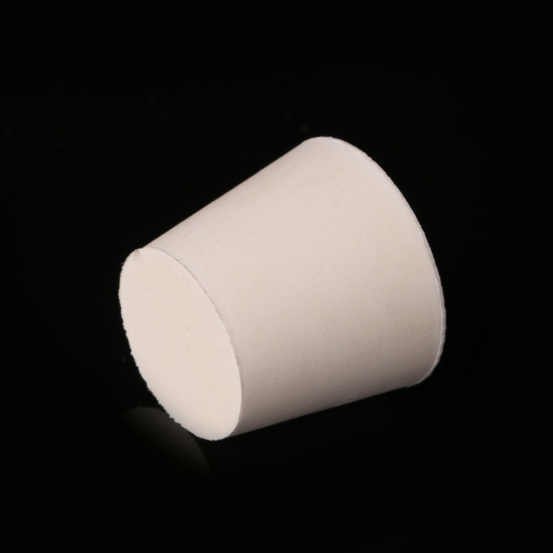 2pcs Natural Rubber Stopper Laboratory Bottle Test Tube Sealing Plug Push Bungs 40JE