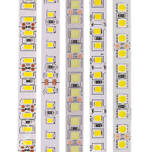 5M Led Light Strip Smd 5050 5054 5630 2835 120Leds/M Flexibele Led Tape Licht 12V 24V Waterdichte Led Lint Zachte Led Streep(China)